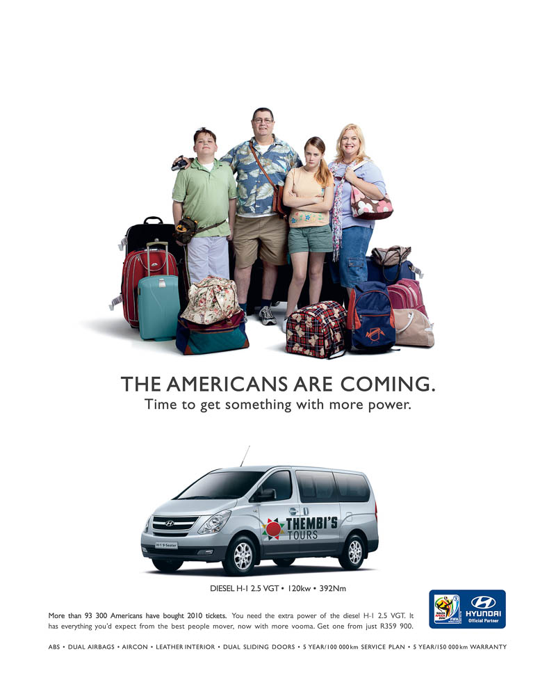 Hyundai H1 - The Americans Are Coming
