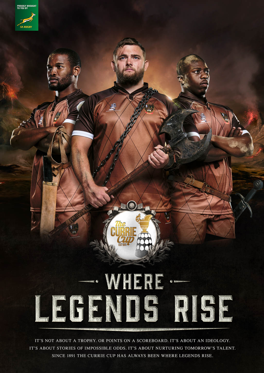 The Currie Cup - Where Legends Rise