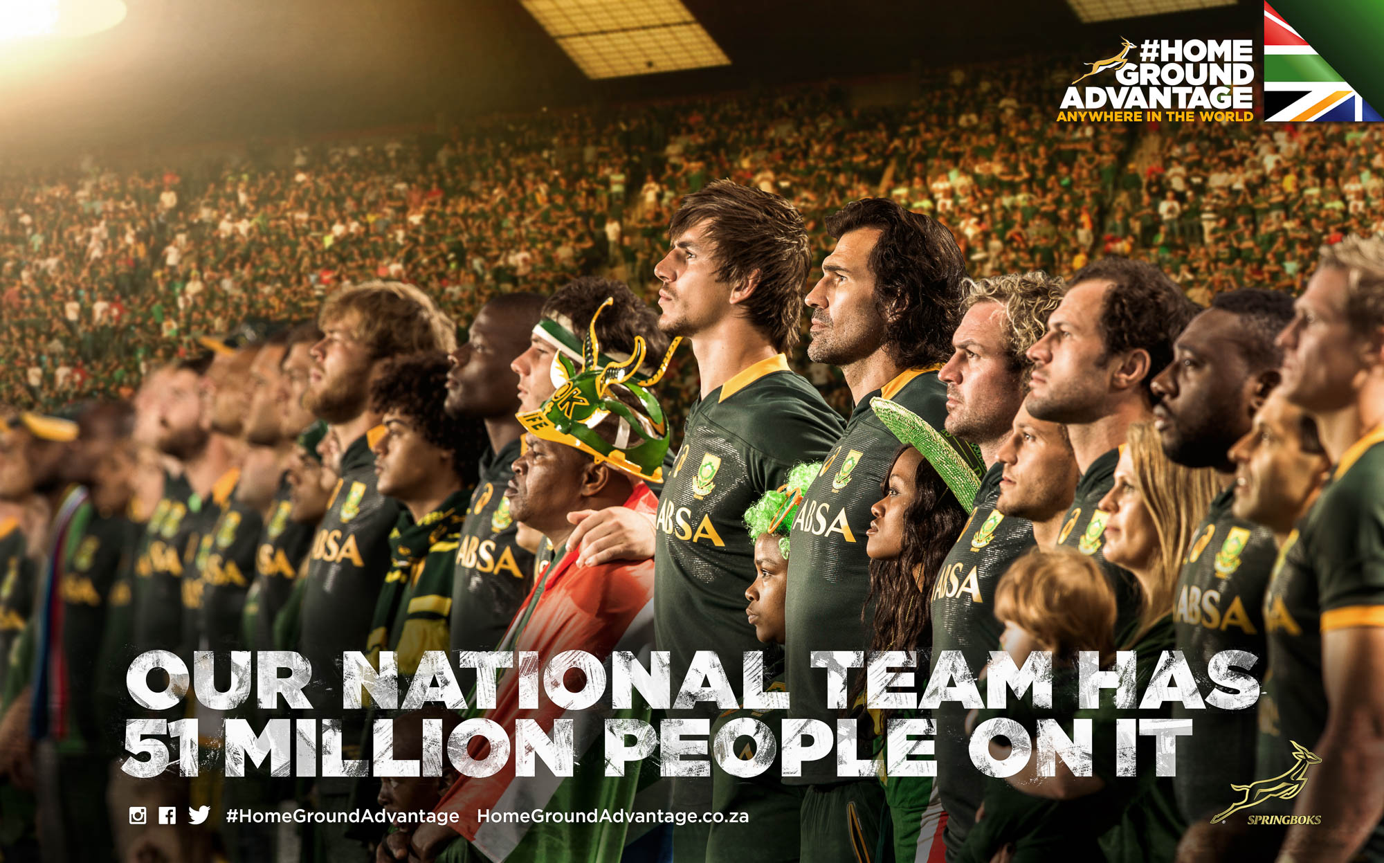 Our National Team Has 51 Million People On It